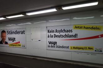 Kein Asylchaos à la Deutschland! Ständerat Hans Uel Vogt.